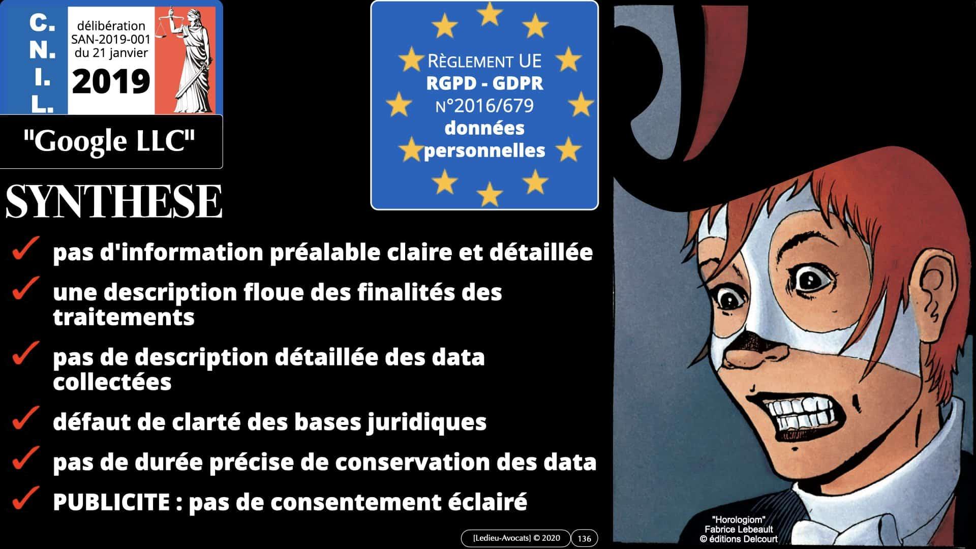RGPD e-Privacy données personnelles jurisprudence formation Lamy Les Echos 10-02-2021 ©Ledieu-Avocats.136