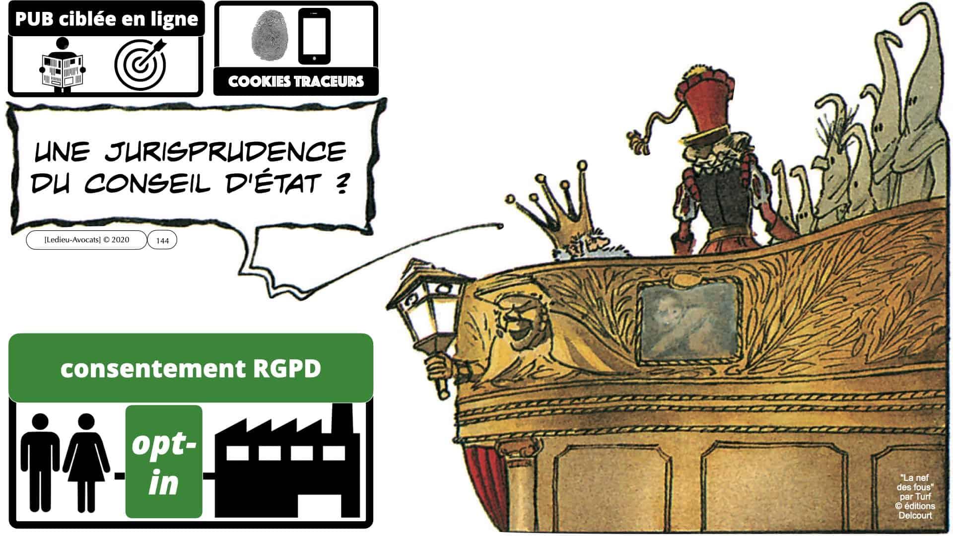 RGPD e-Privacy données personnelles jurisprudence formation Lamy Les Echos 10-02-2021 ©Ledieu-Avocats.144