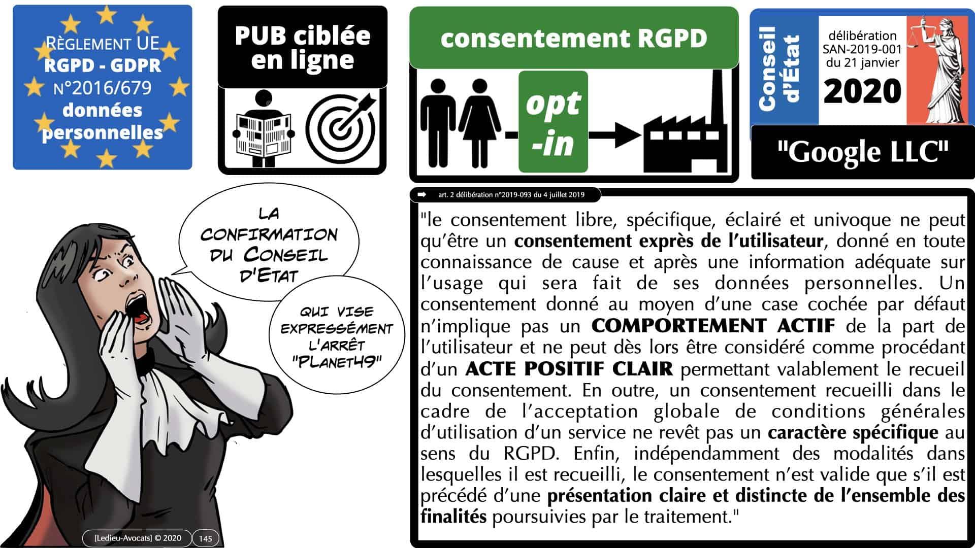 RGPD e-Privacy données personnelles jurisprudence formation Lamy Les Echos 10-02-2021 ©Ledieu-Avocats.145