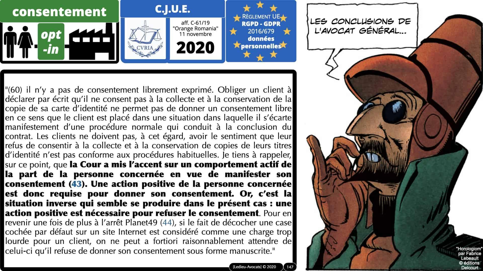 RGPD e-Privacy données personnelles jurisprudence formation Lamy Les Echos 10-02-2021 ©Ledieu-Avocats.147
