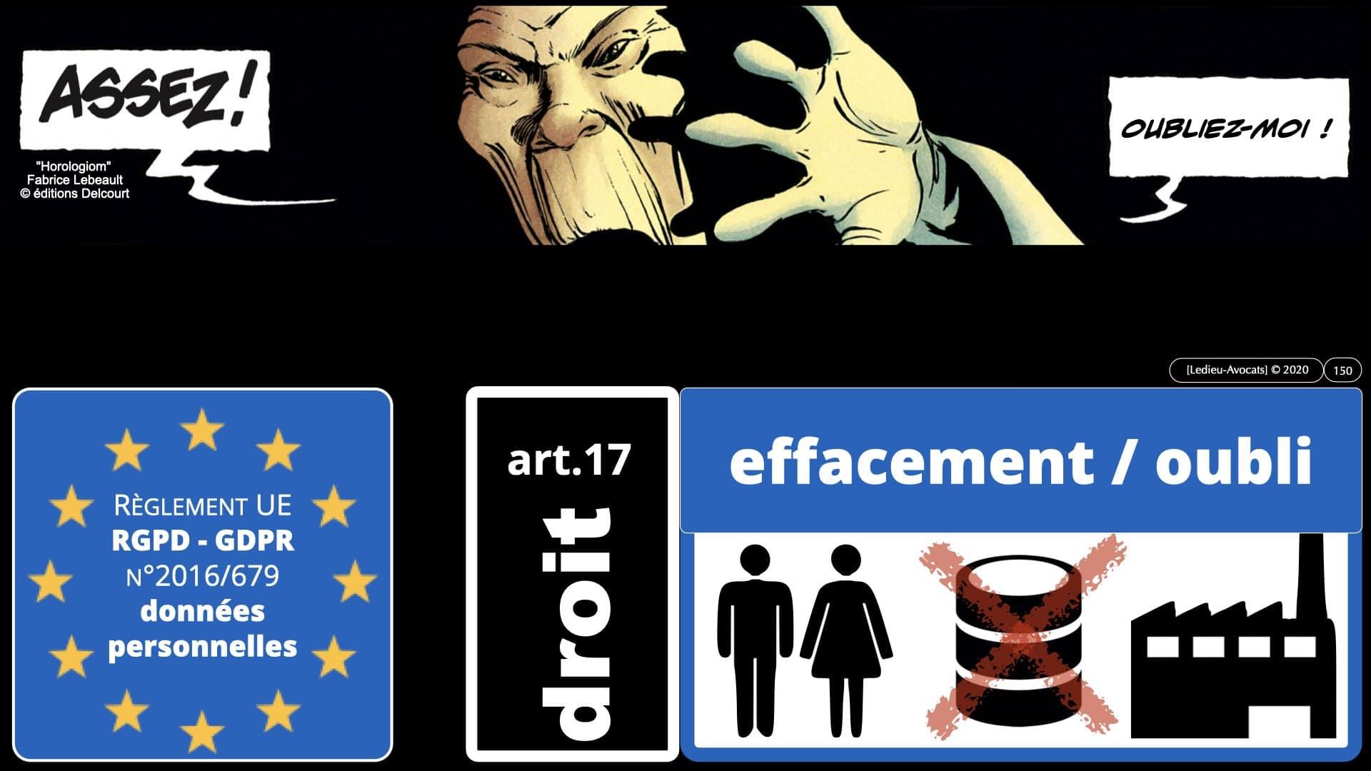 RGPD e-Privacy données personnelles jurisprudence formation Lamy Les Echos 10-02-2021 ©Ledieu-Avocats.150