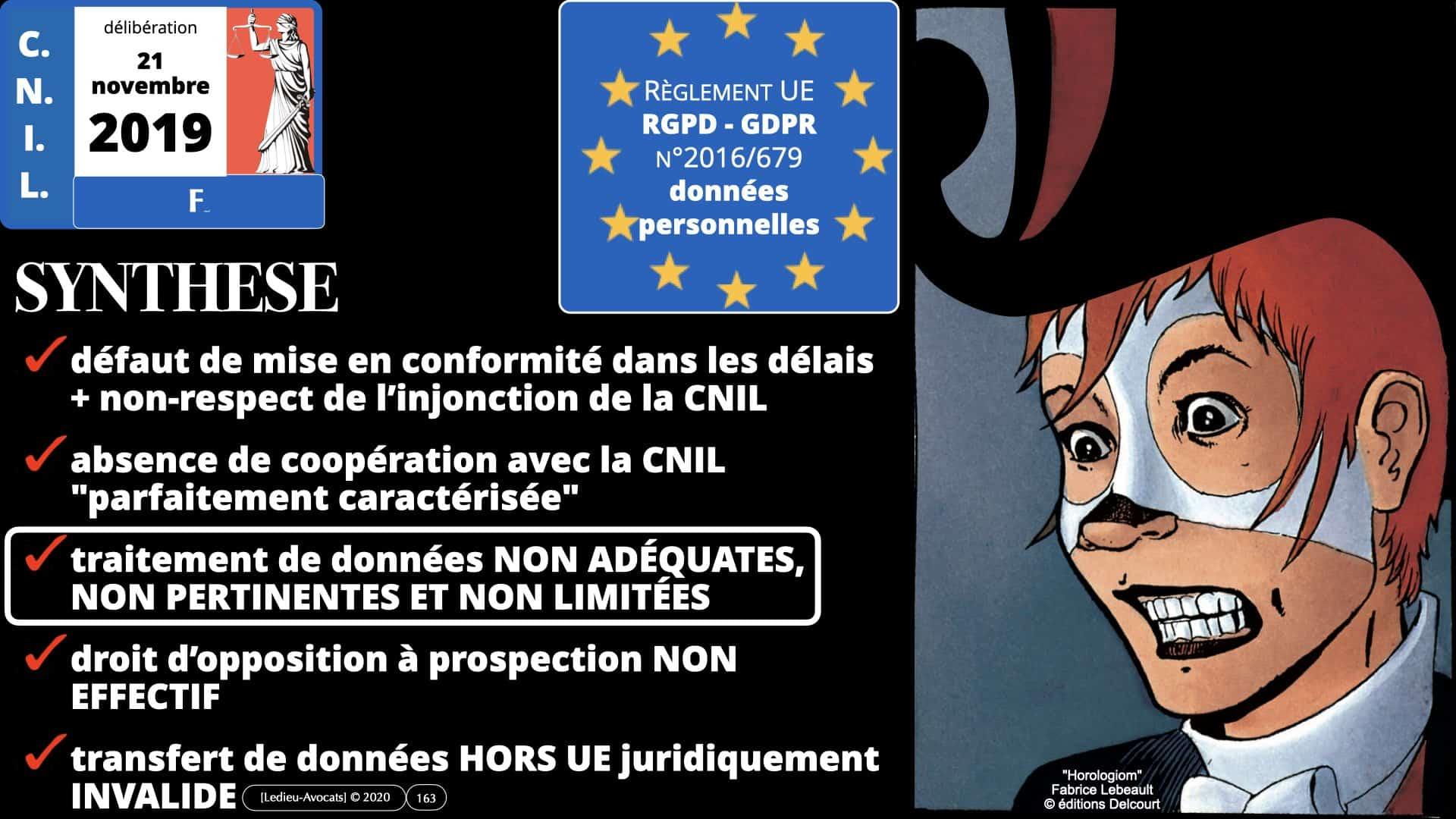 RGPD e-Privacy données personnelles jurisprudence formation Lamy Les Echos 10-02-2021 ©Ledieu-Avocats.163