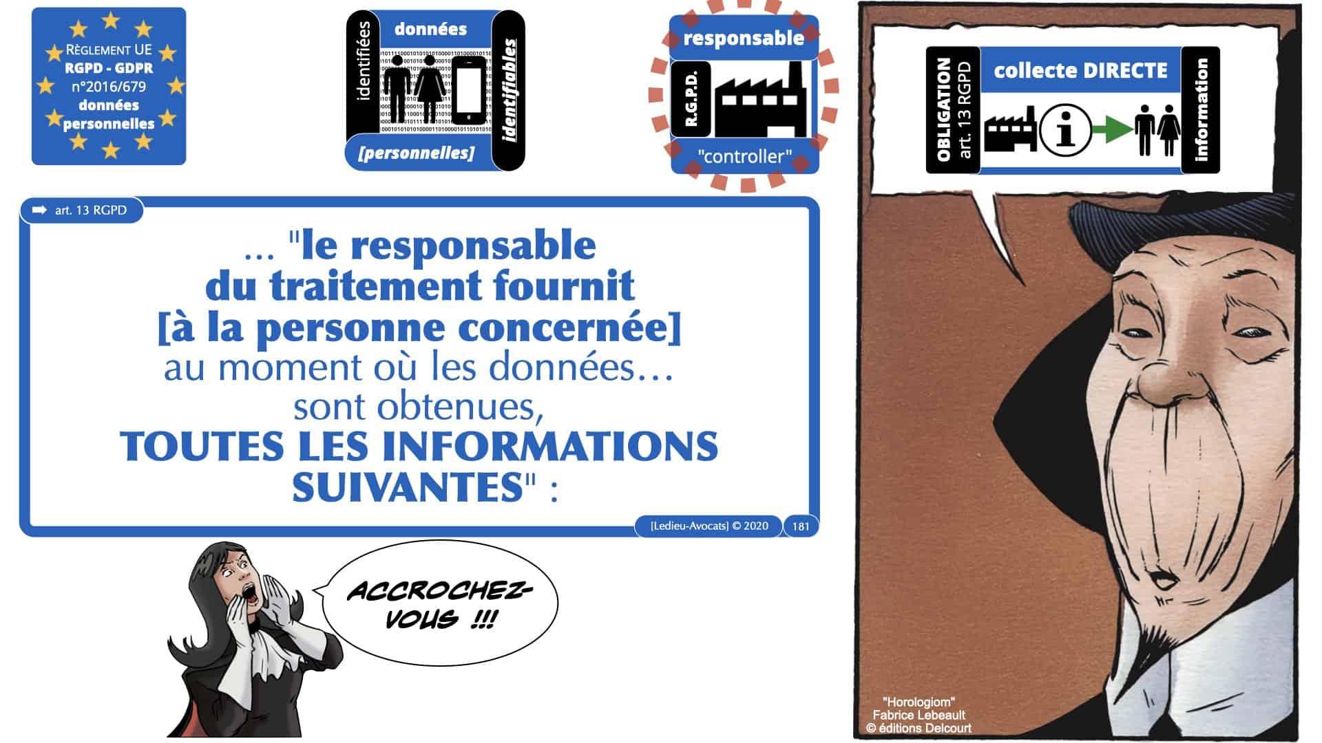 RGPD e-Privacy données personnelles jurisprudence formation Lamy Les Echos 10-02-2021 ©Ledieu-Avocats.181