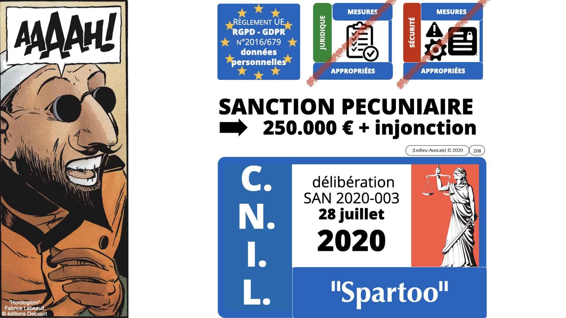 RGPD e-Privacy données personnelles jurisprudence formation Lamy Les Echos 10-02-2021 ©Ledieu-Avocats.208