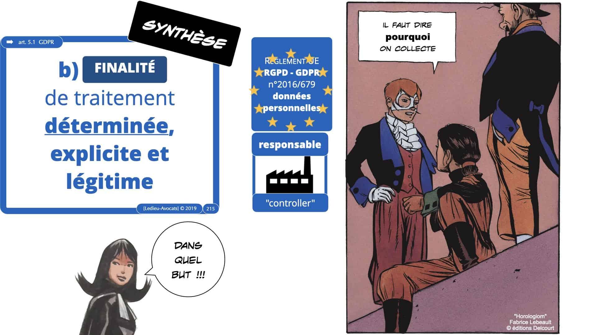 RGPD e-Privacy données personnelles jurisprudence formation Lamy Les Echos 10-02-2021 ©Ledieu-Avocats.215