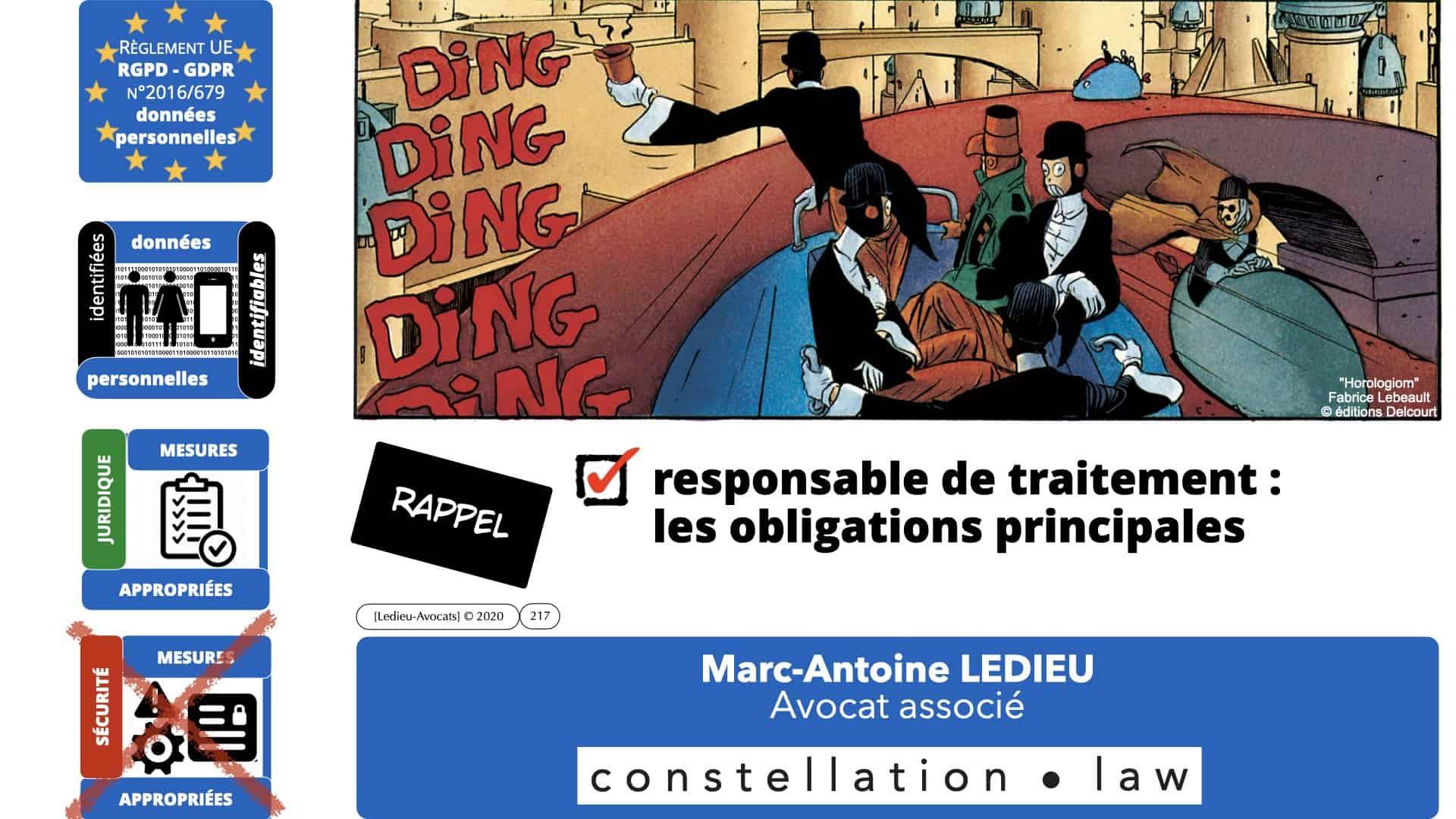 RGPD e-Privacy données personnelles jurisprudence formation Lamy Les Echos 10-02-2021 ©Ledieu-Avocats.217