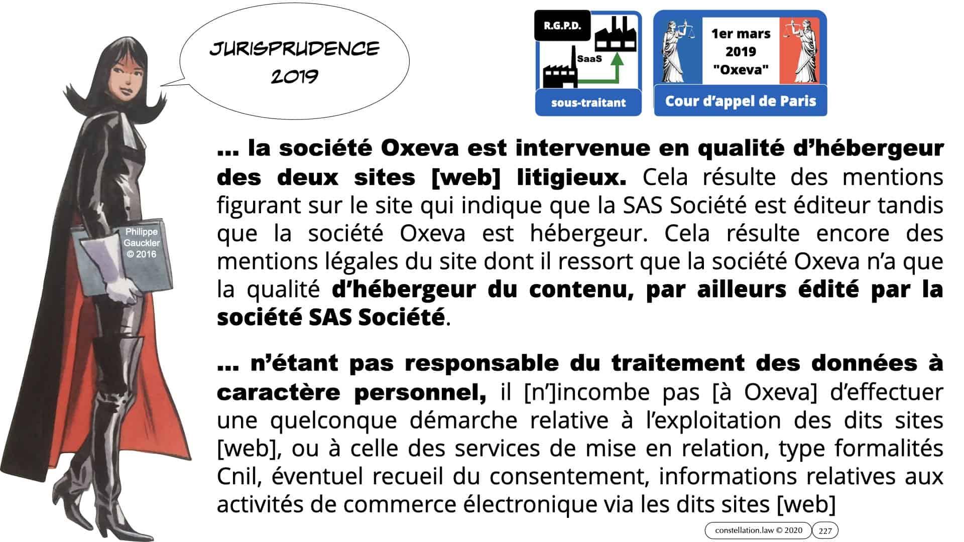 RGPD e-Privacy données personnelles jurisprudence formation Lamy Les Echos 10-02-2021 ©Ledieu-Avocats.227
