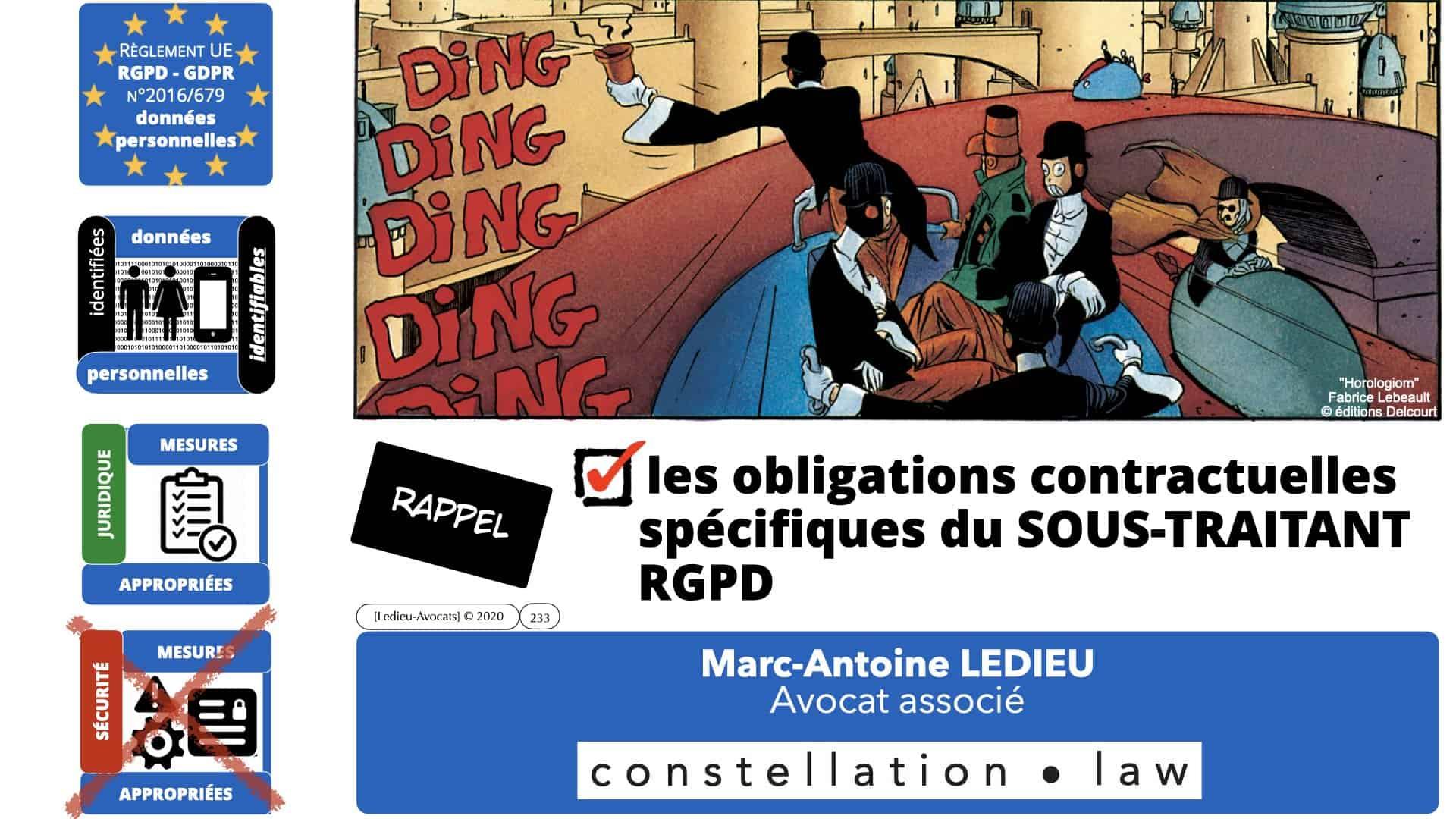 RGPD e-Privacy données personnelles jurisprudence formation Lamy Les Echos 10-02-2021 ©Ledieu-Avocats.233