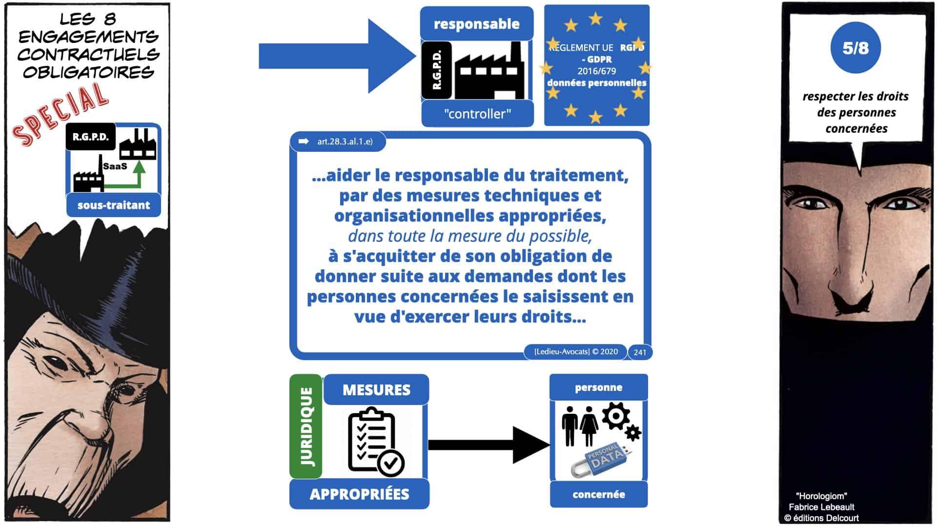 RGPD e-Privacy données personnelles jurisprudence formation Lamy Les Echos 10-02-2021 ©Ledieu-Avocats.241