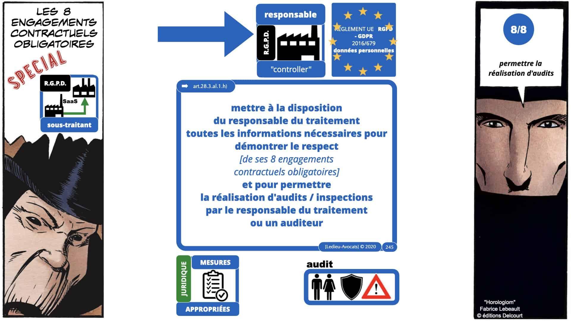 RGPD e-Privacy données personnelles jurisprudence formation Lamy Les Echos 10-02-2021 ©Ledieu-Avocats.245