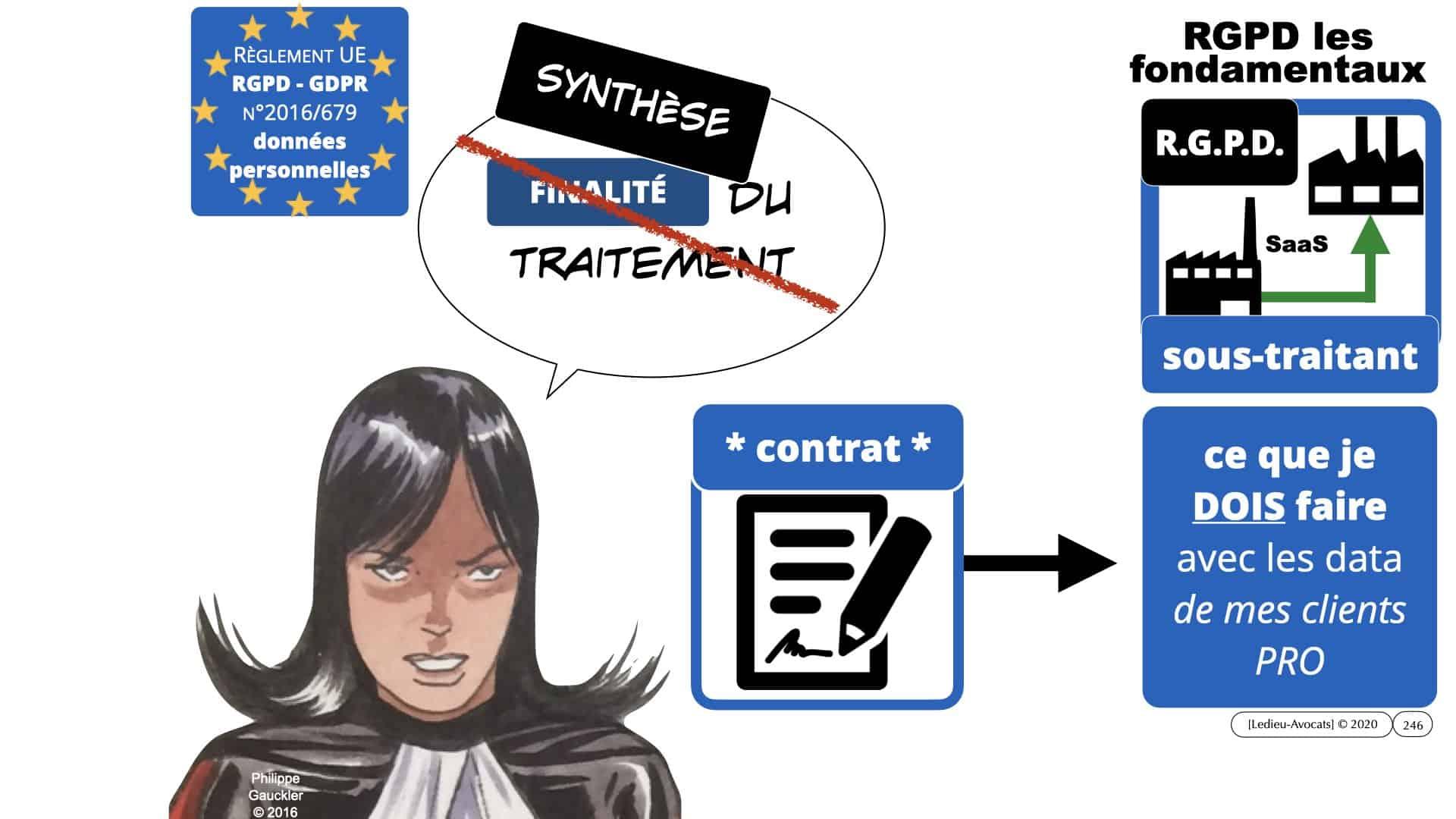 RGPD e-Privacy données personnelles jurisprudence formation Lamy Les Echos 10-02-2021 ©Ledieu-Avocats.246