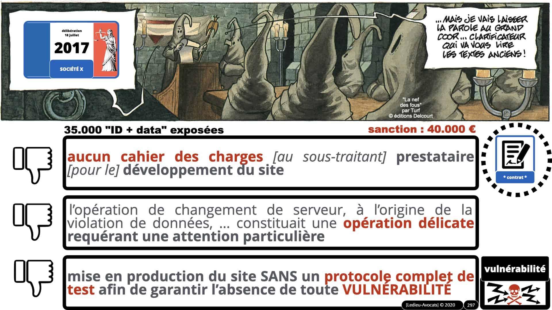 RGPD e-Privacy données personnelles jurisprudence formation Lamy Les Echos 10-02-2021 ©Ledieu-Avocats.297