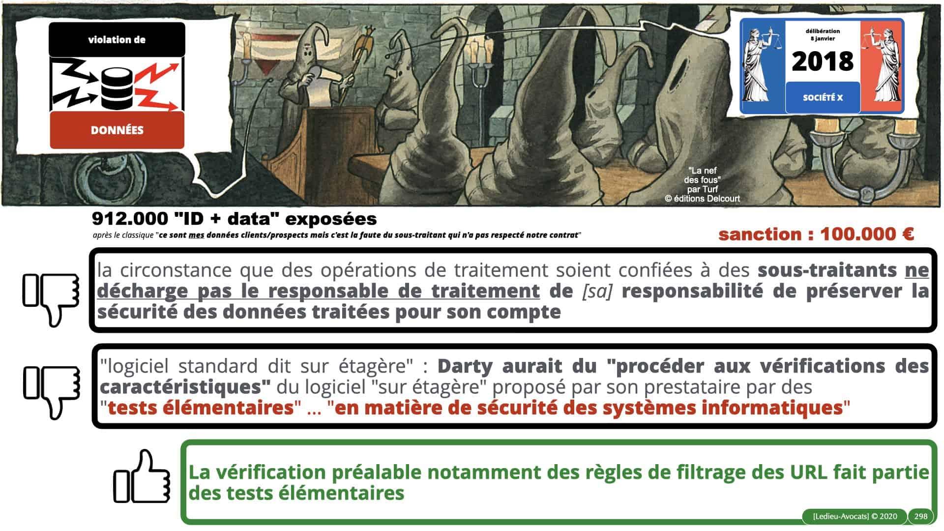 RGPD e-Privacy données personnelles jurisprudence formation Lamy Les Echos 10-02-2021 ©Ledieu-Avocats.298
