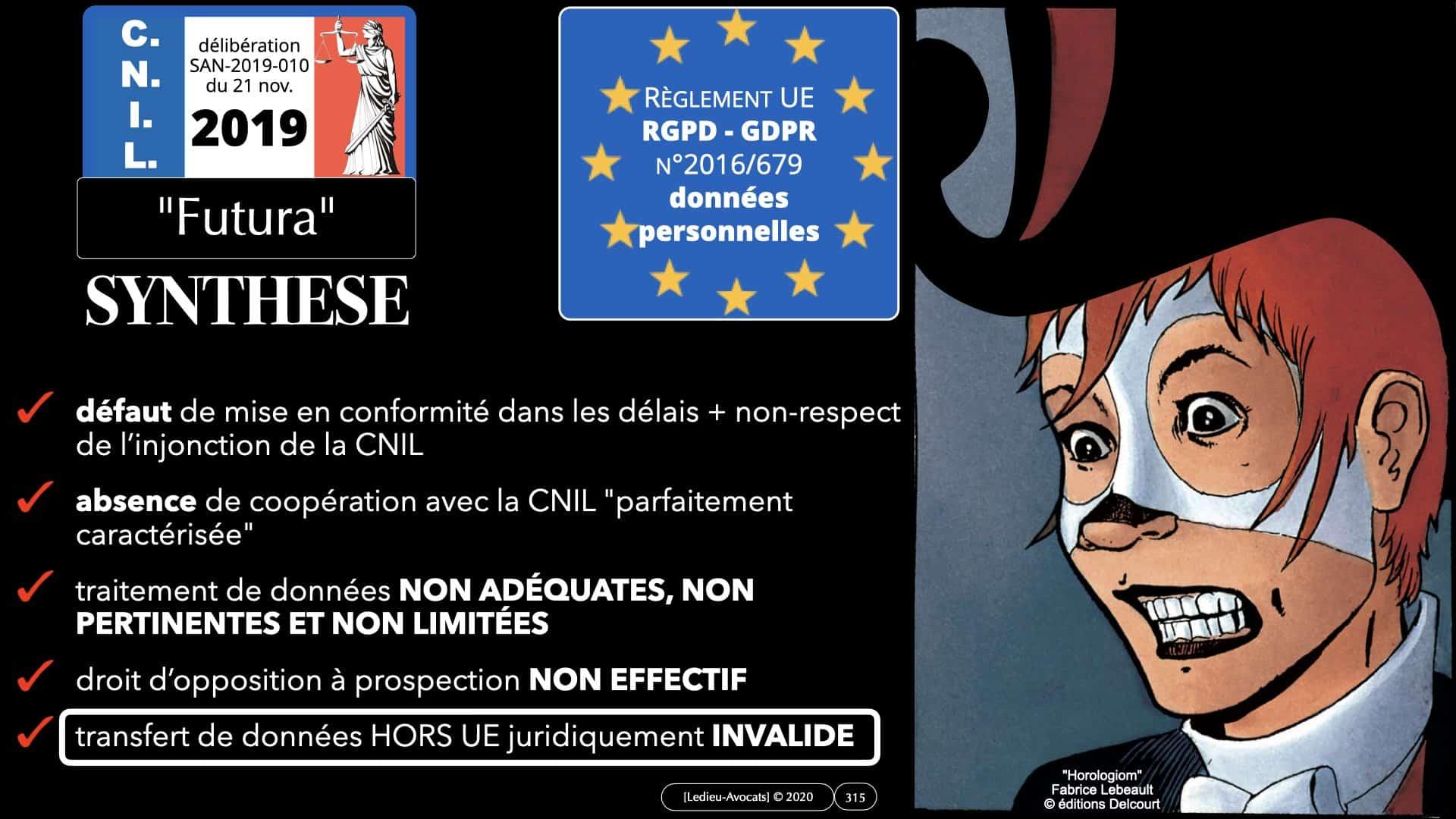 RGPD e-Privacy données personnelles jurisprudence formation Lamy Les Echos 10-02-2021 ©Ledieu-Avocats.315