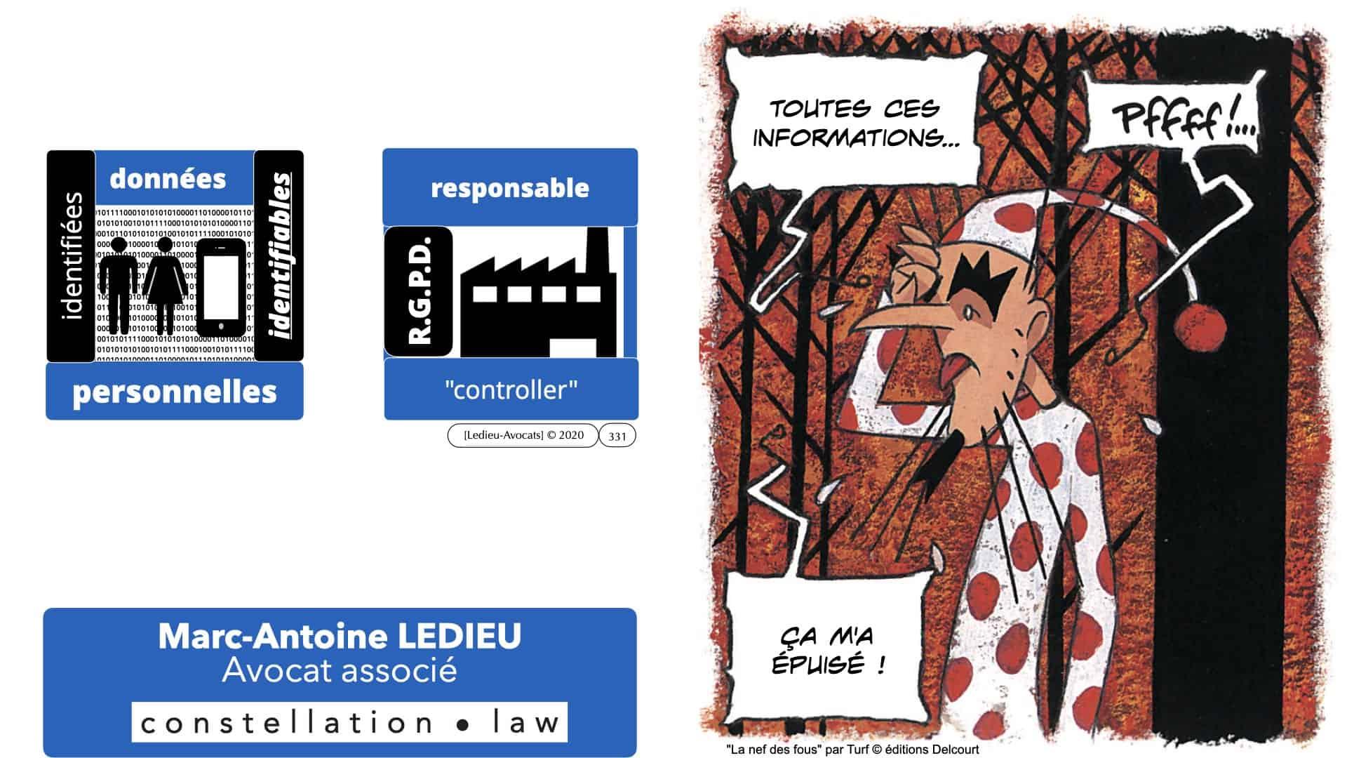 RGPD e-Privacy données personnelles jurisprudence formation Lamy Les Echos 10-02-2021 ©Ledieu-Avocats.331