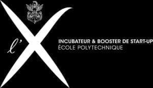 X'UP Polytechnique logo Blanc - horizontal-FR