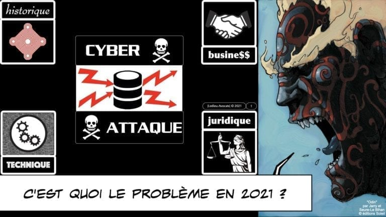CYBER ATTAQUE en 2021 ? © Ledieu-Avocats 09-03-2021