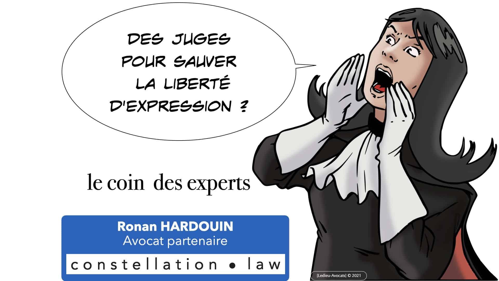 Des juges pour sauver la liberté d'expression !