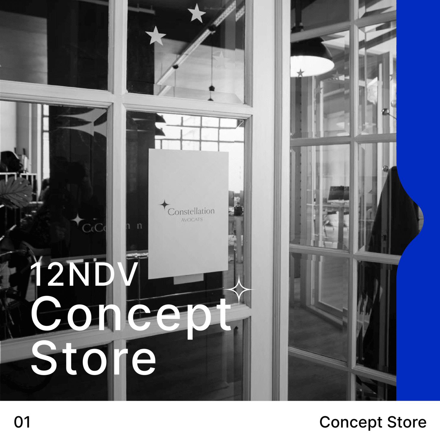 concept store – le 12 NDV