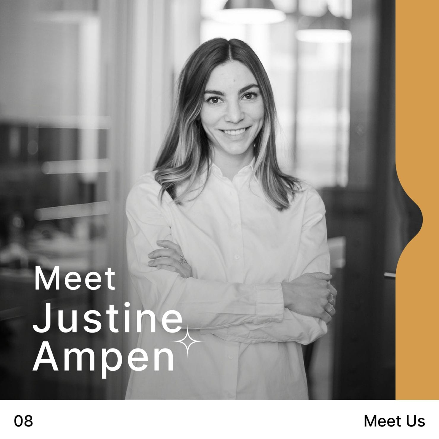 meet us – Justine AMPEN