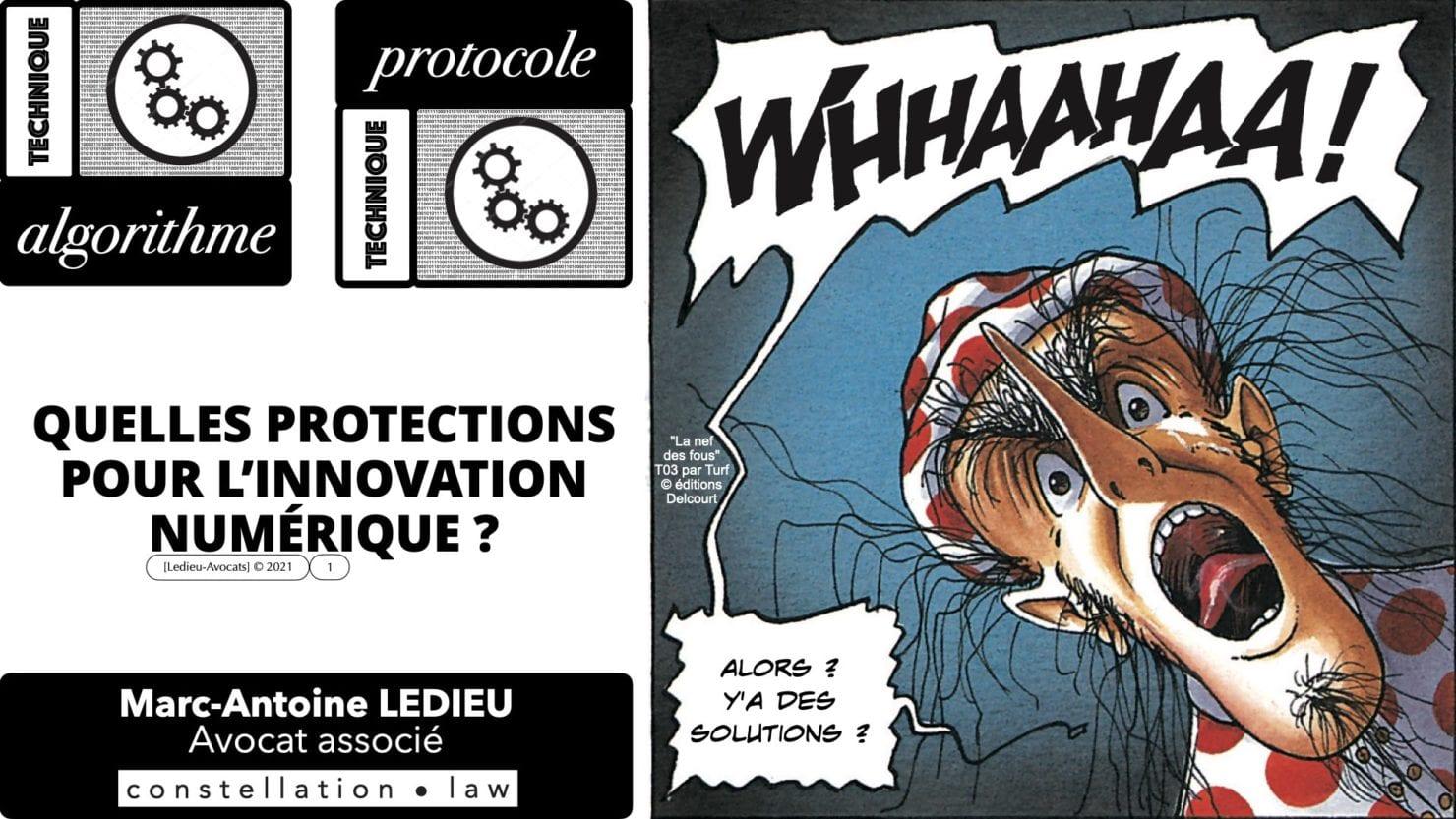 algorithme protocole : la protection de l'innovation numérique ?