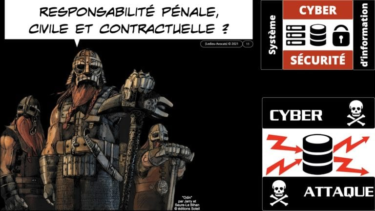 CYBER ATTAQUE responsabilité pénale civile contrat © Ledieu-Avocats 23-05-2021.011