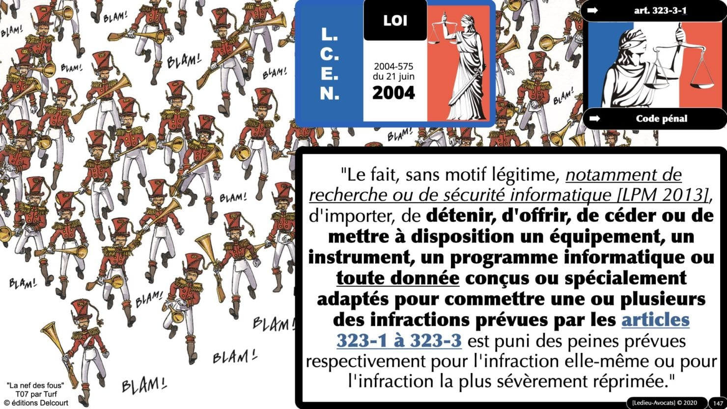 333 CYBER ATTAQUE responsabilité pénale civile contrat © Ledieu-Avocats 23-05-2021.147