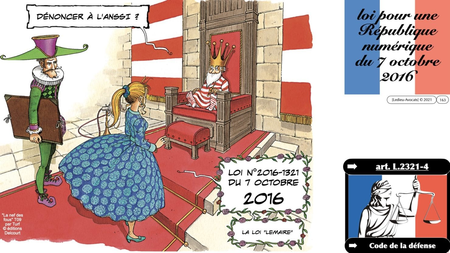 333 CYBER ATTAQUE responsabilité pénale civile contrat © Ledieu-Avocats 23-05-2021.163