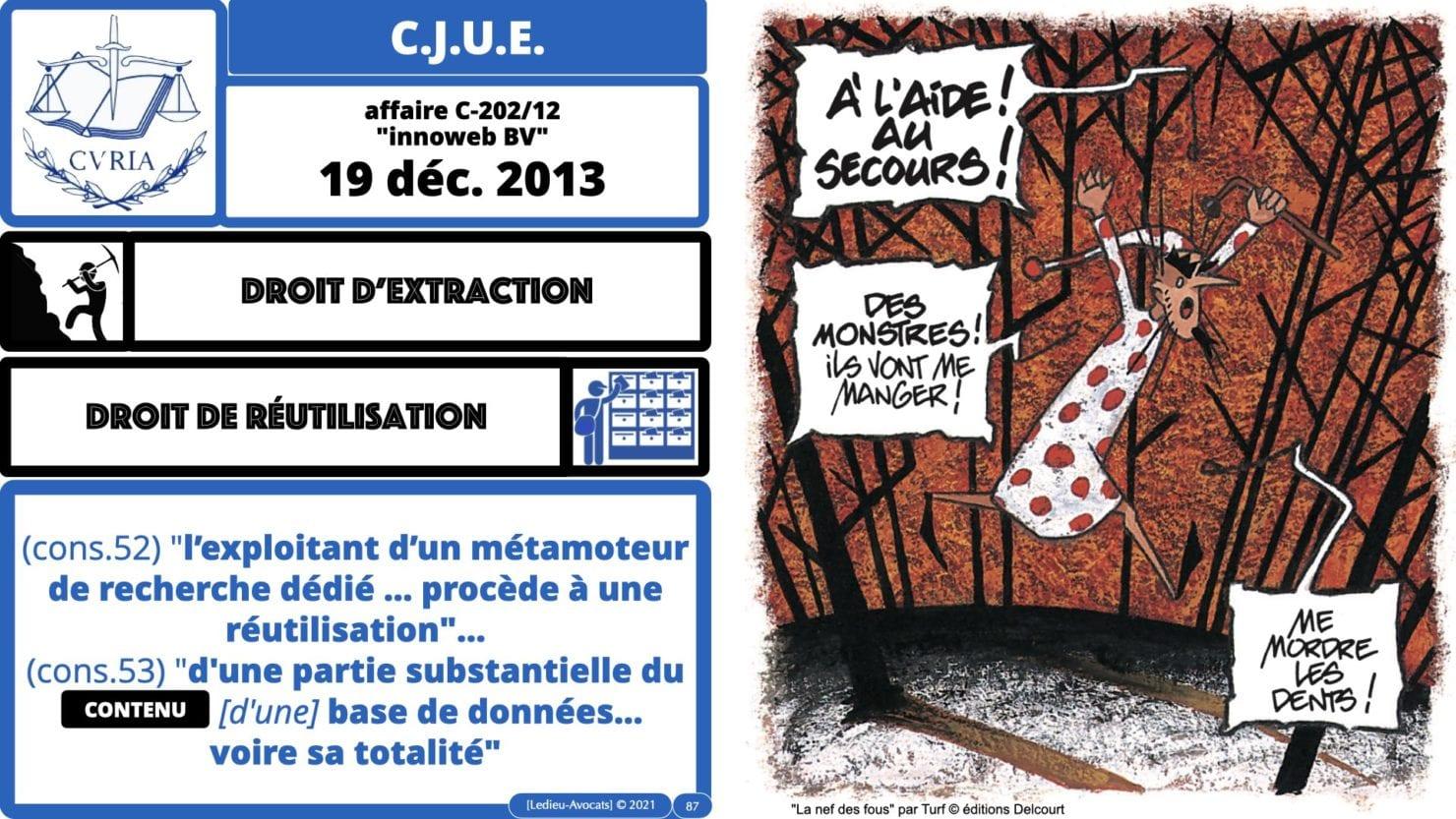 334 extraction indexation BASE DE DONNEES © Ledieu-avocat 24-05-2021.087