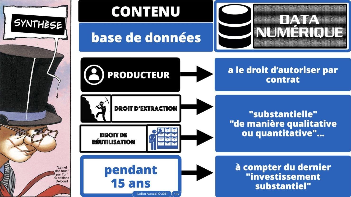 334 extraction indexation BASE DE DONNEES © Ledieu-avocat 24-05-2021.105