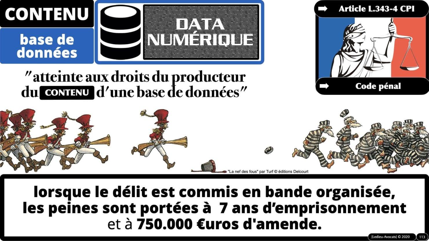 334 extraction indexation BASE DE DONNEES © Ledieu-avocat 24-05-2021.113