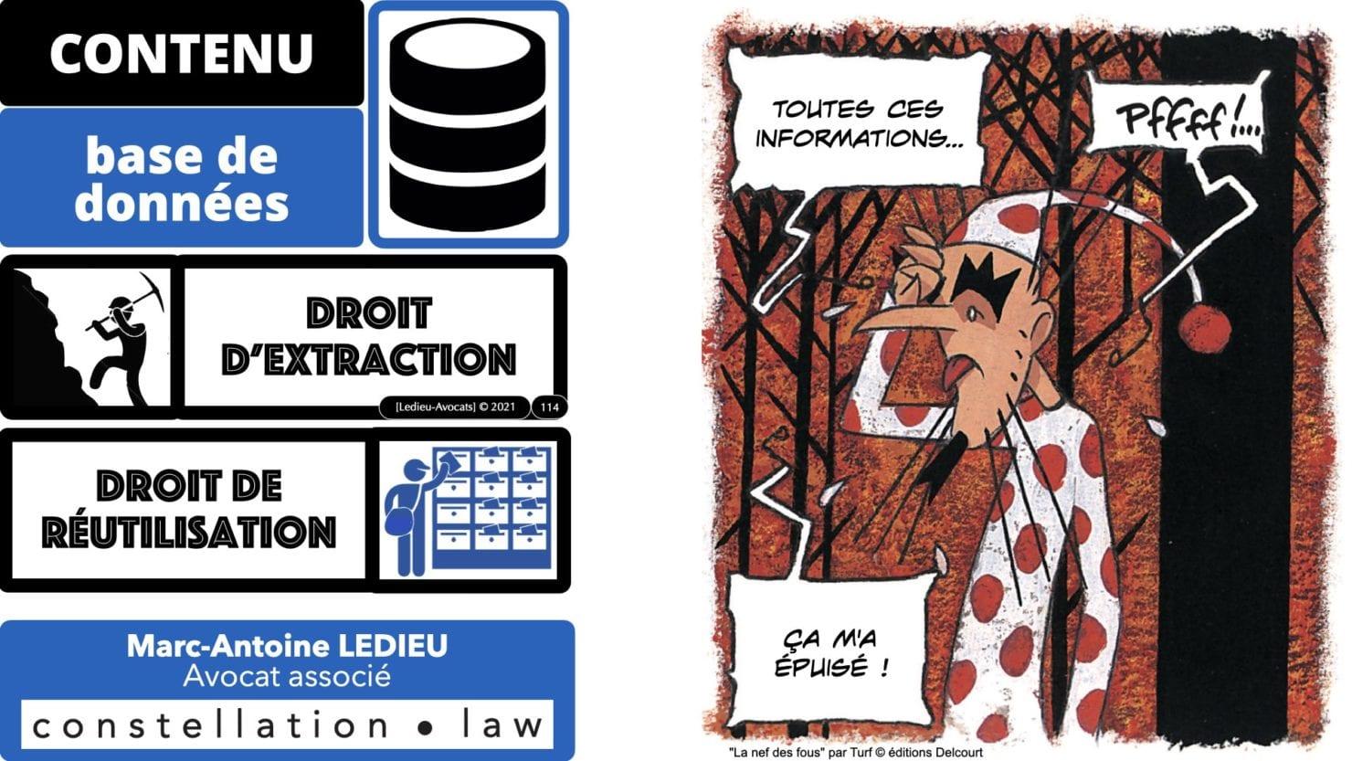 334 extraction indexation BASE DE DONNEES © Ledieu-avocat 24-05-2021.114