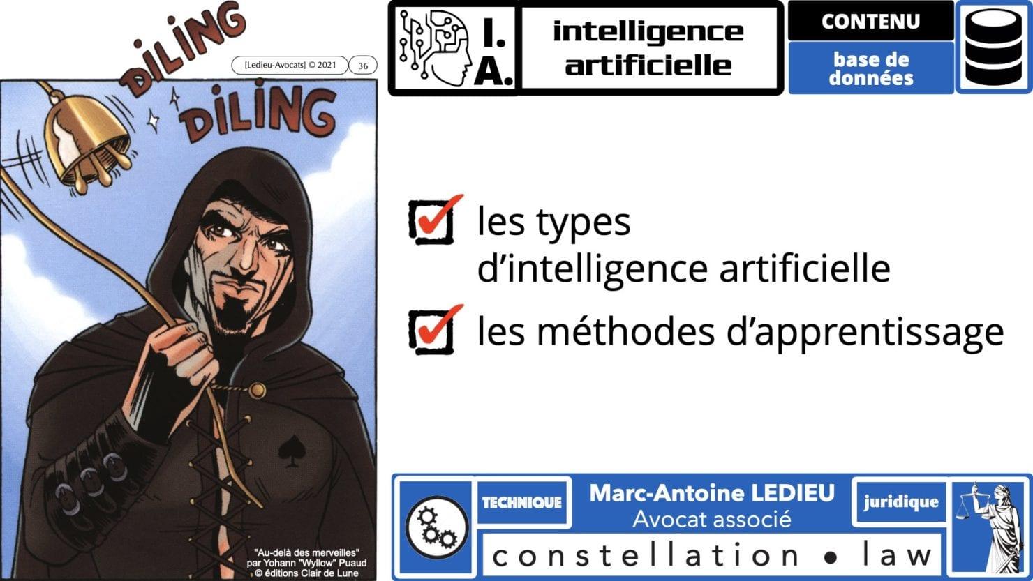 335 Intelligence Artificielle 2021 et AI Act [projet de Règlement UE] deep learning machine learning © Ledieu-Avocats 04-06-2021 *16:9*.036
