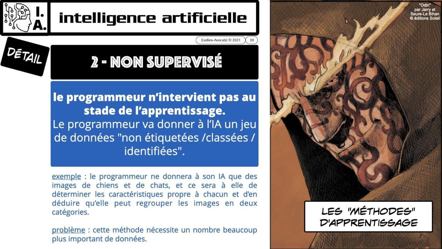 335 Intelligence Artificielle 2021 et AI Act [projet de Règlement UE] deep learning machine learning © Ledieu-Avocats 04-06-2021 *16:9*.039