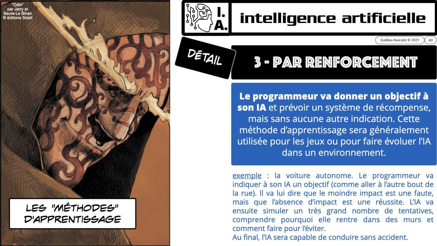 335 Intelligence Artificielle 2021 et AI Act [projet de Règlement UE] deep learning machine learning © Ledieu-Avocats 04-06-2021 *16:9*.040