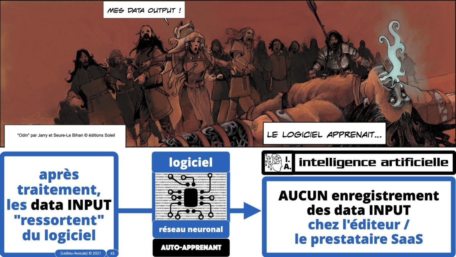 335 Intelligence Artificielle 2021 et AI Act [projet de Règlement UE] deep learning machine learning © Ledieu-Avocats 04-06-2021 *16:9*.045