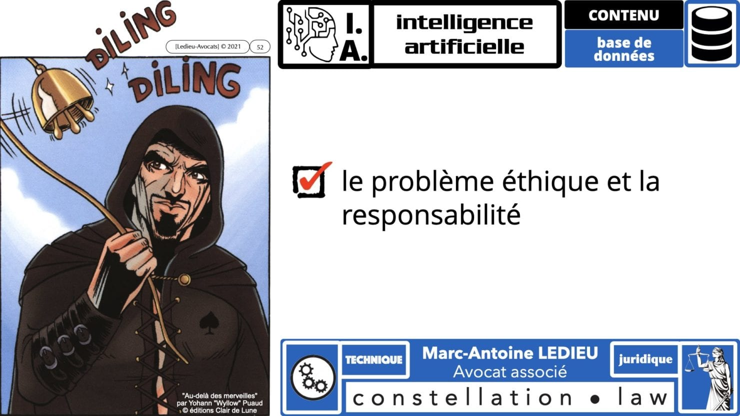 335 Intelligence Artificielle 2021 et AI Act [projet de Règlement UE] deep learning machine learning © Ledieu-Avocats 04-06-2021 *16:9*.052