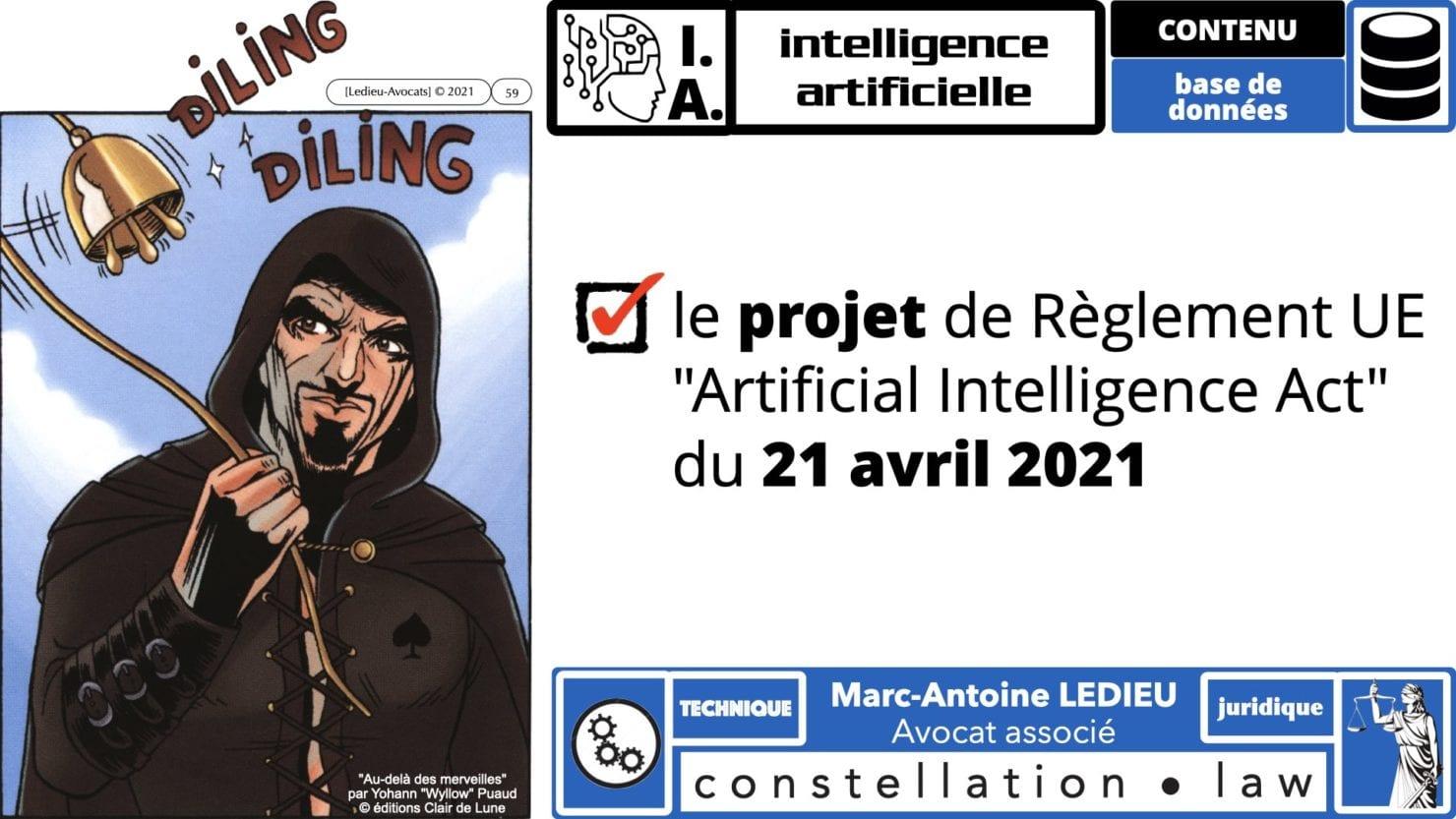 335 Intelligence Artificielle 2021 et AI Act [projet de Règlement UE] deep learning machine learning © Ledieu-Avocats 04-06-2021 *16:9*.059