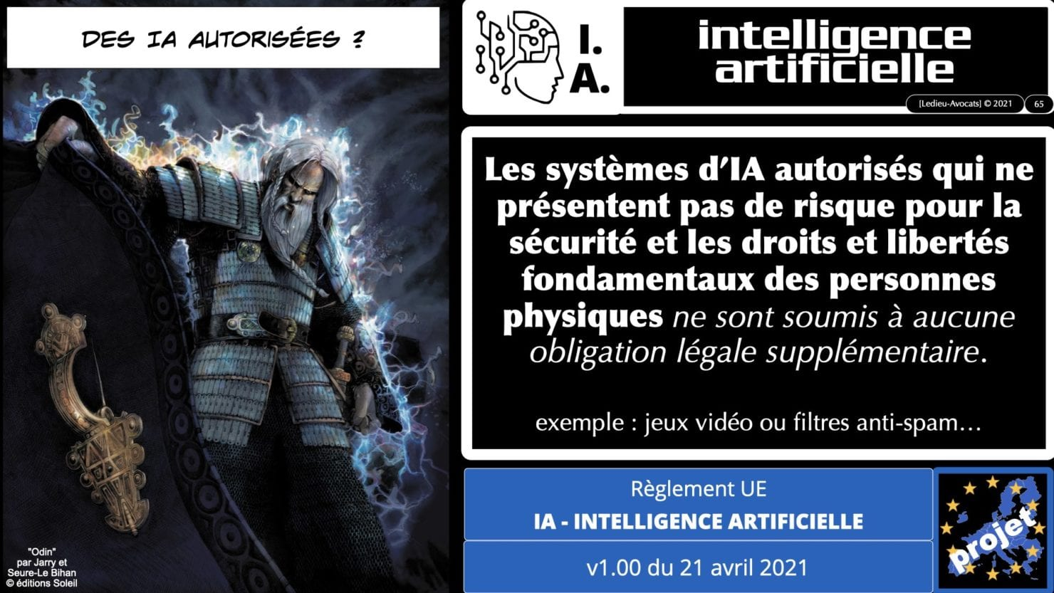 335 Intelligence Artificielle 2021 et AI Act [projet de Règlement UE] deep learning machine learning © Ledieu-Avocats 04-06-2021 *16:9*.065