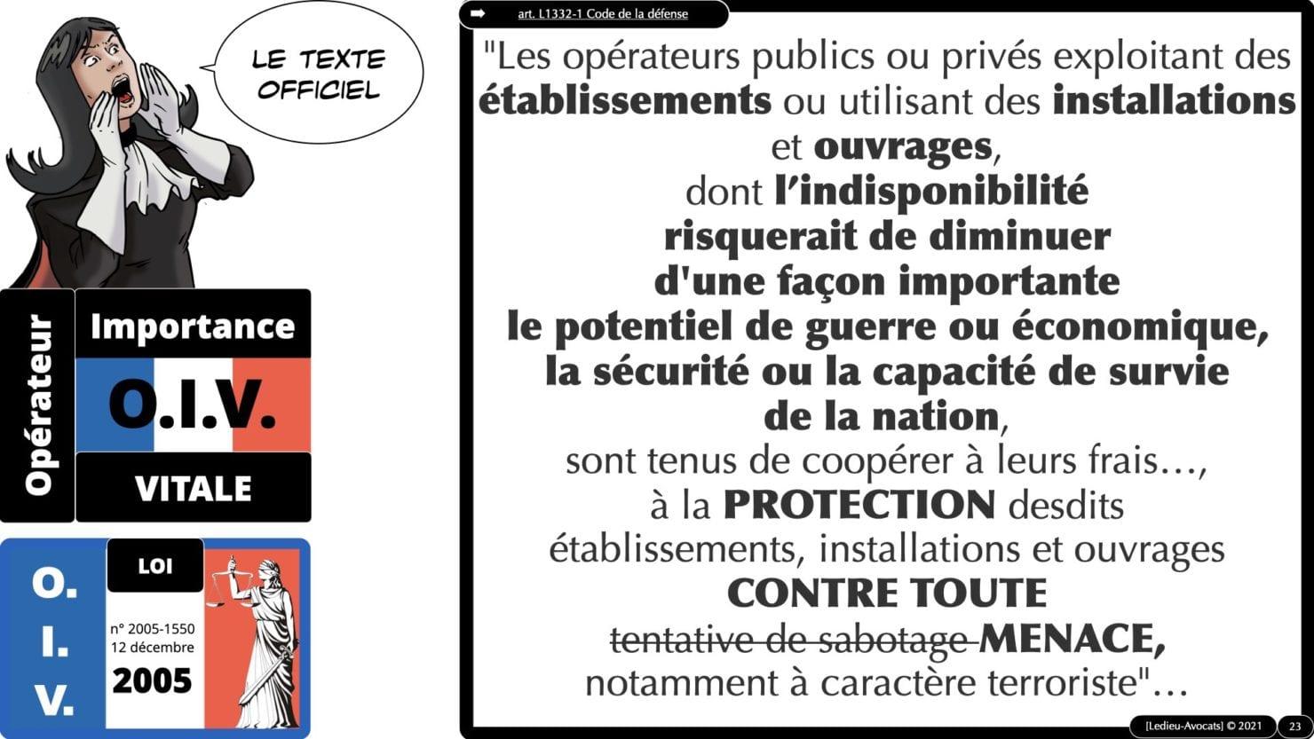 337 cyber sécurité #1 OIV OSE Critical Entities © Ledieu-avocat 15-06-2021.023