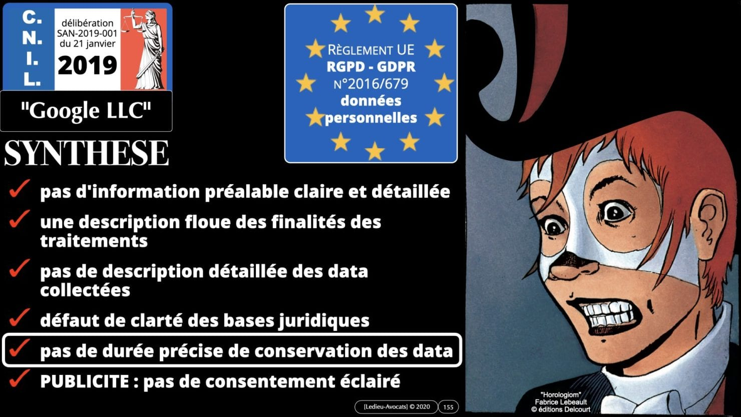 RGPD e-Privacy principes actualité jurisprudence ©Ledieu-Avocats 25-06-2021.155