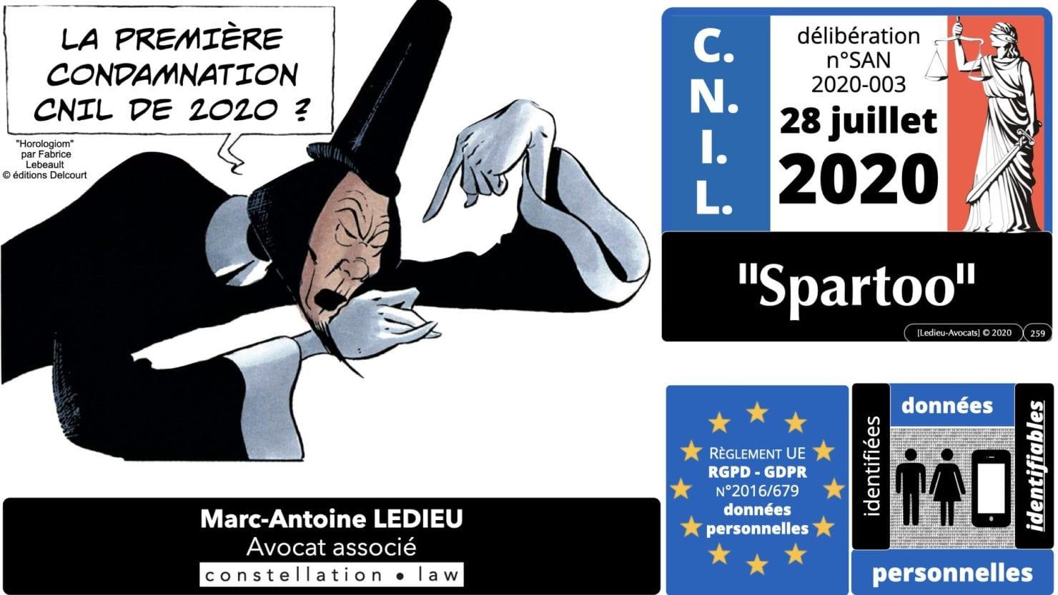 RGPD e-Privacy principes actualité jurisprudence ©Ledieu-Avocats 25-06-2021.259