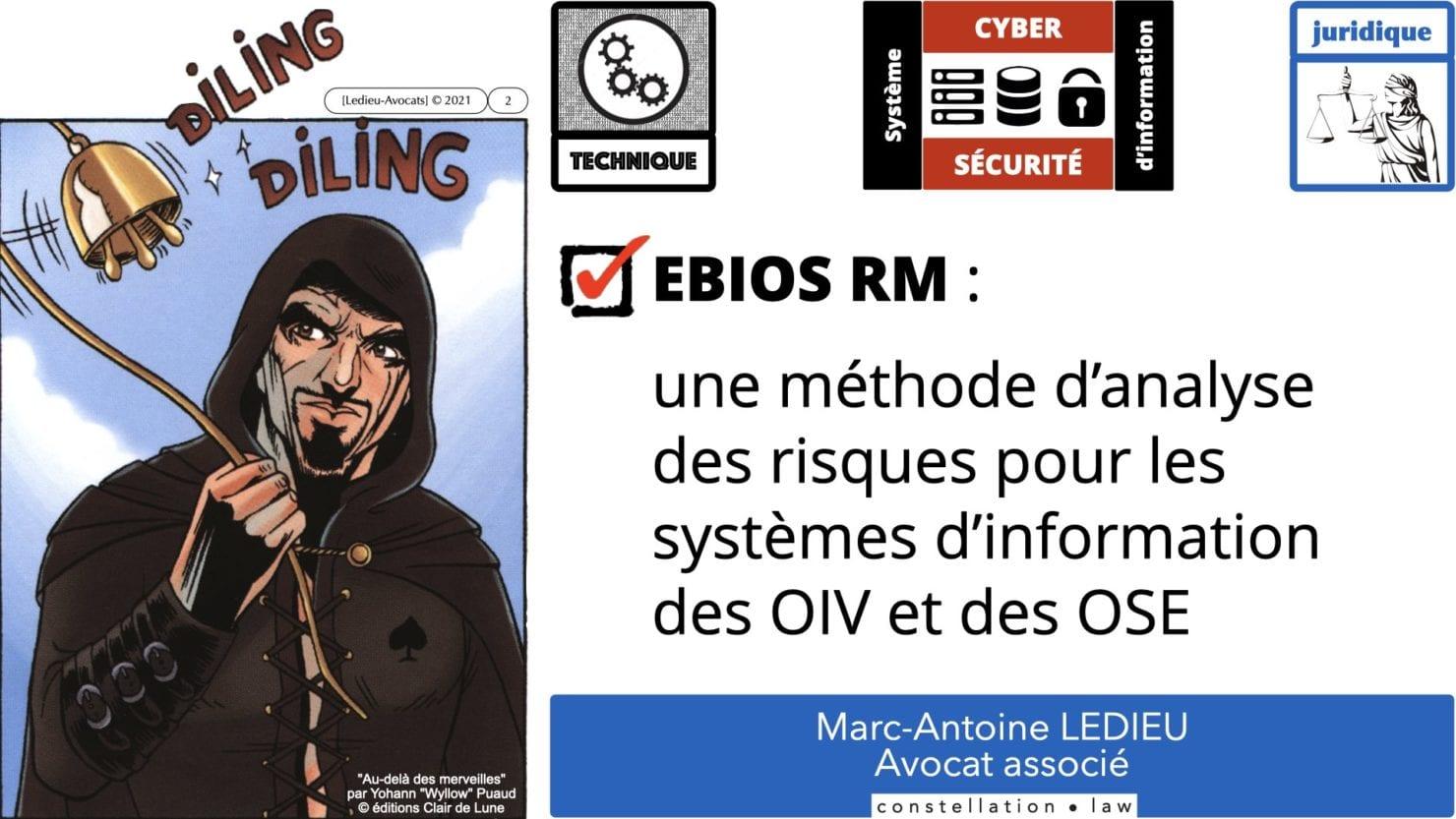 342 cyber sécurité #2 OIV OSE analyse risque EBIOS RM © Ledieu-avocat 15-07-2021.002