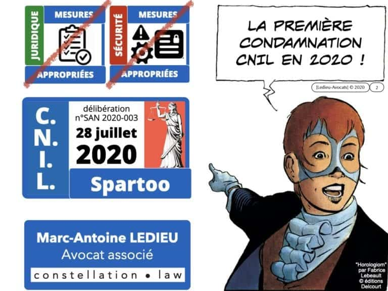 303 RGPD deliberation CNIL SPARTOO du 28 juillet 2020 n°SAN 2020-003 ©Ledieu-Avocats 17-08-2020.002