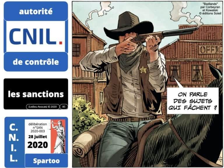 RGPD déliberation CNIL SPARTOO