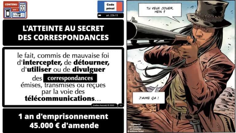 306 RGPD et jurisprudence e-Privacy données-personnelles 16:9 ©Ledieu-Avocats 05-10-2020 formation Les Echos Lamy Conference.071