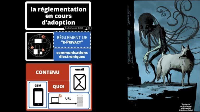306 RGPD et jurisprudence e-Privacy données-personnelles 16:9 ©Ledieu-Avocats 05-10-2020 formation Les Echos Lamy Conference.075