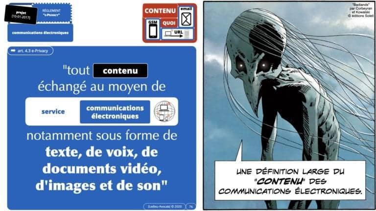 306 RGPD et jurisprudence e-Privacy données-personnelles 16:9 ©Ledieu-Avocats 05-10-2020 formation Les Echos Lamy Conference.076