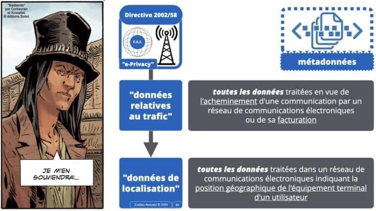 306 RGPD et jurisprudence e-Privacy données-personnelles 16:9 ©Ledieu-Avocats 05-10-2020 formation Les Echos Lamy Conference.084