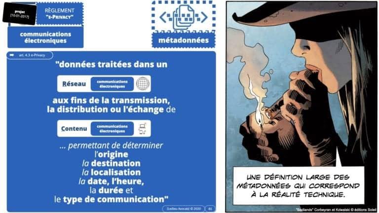 306 RGPD et jurisprudence e-Privacy données-personnelles 16:9 ©Ledieu-Avocats 05-10-2020 formation Les Echos Lamy Conference.085